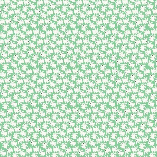 Nana Mae - Green Bunnies