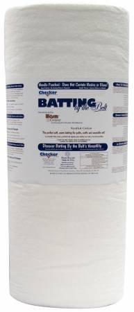 Bleached Cottong Batting - 62 wide