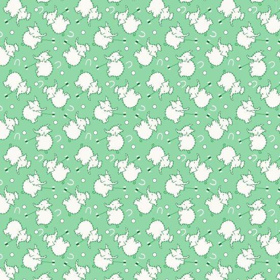 Nana Mae - Green Elephants