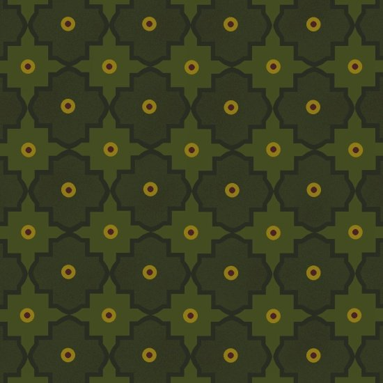 Abundant Blessings -  Green Mosaic
