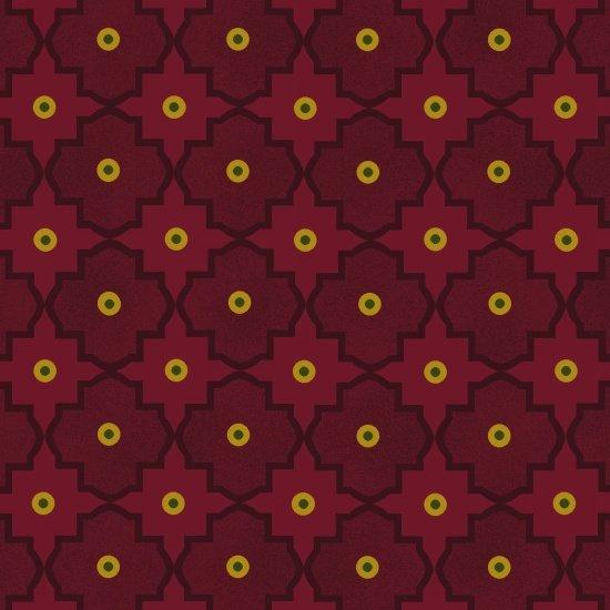 Abundant Blessings -  Maroon Mosaic