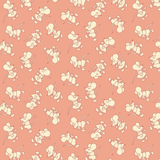 Nana Mae II  - Pink Mouse Toss