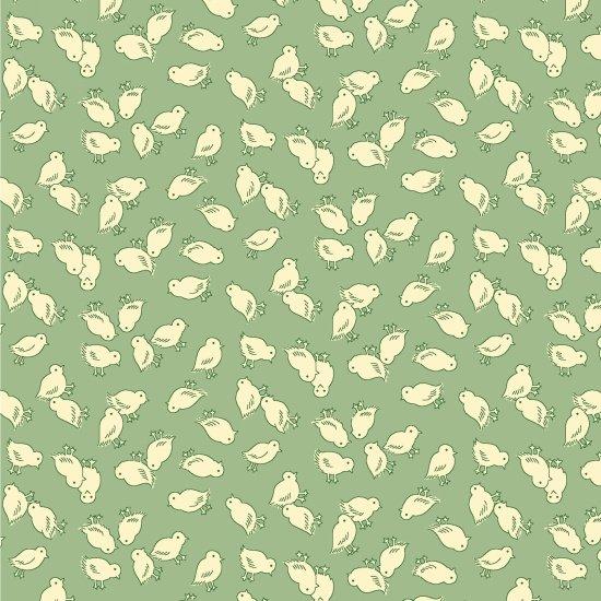 Nana Mae II  - Green Chicks