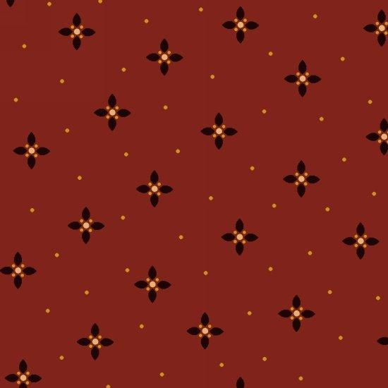Farmstead Harvest - Ruby Geometric Petal