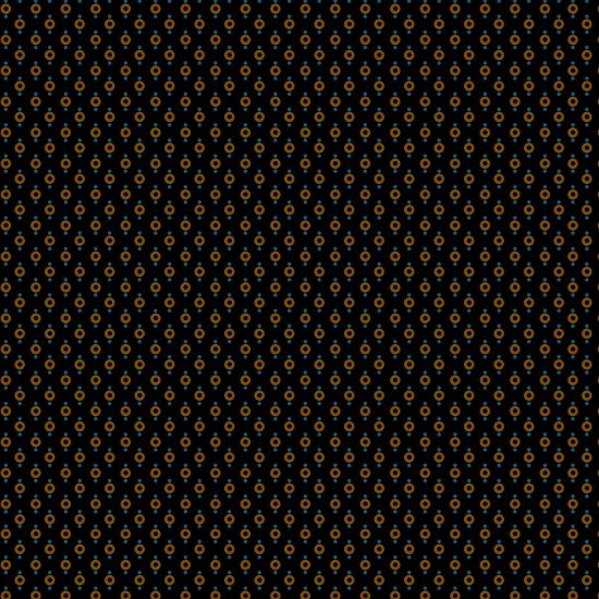 Ebony & Onyx - Rings and Dots