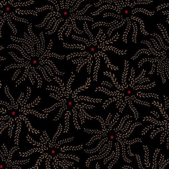Ebony & Onyx - Floral Starburst