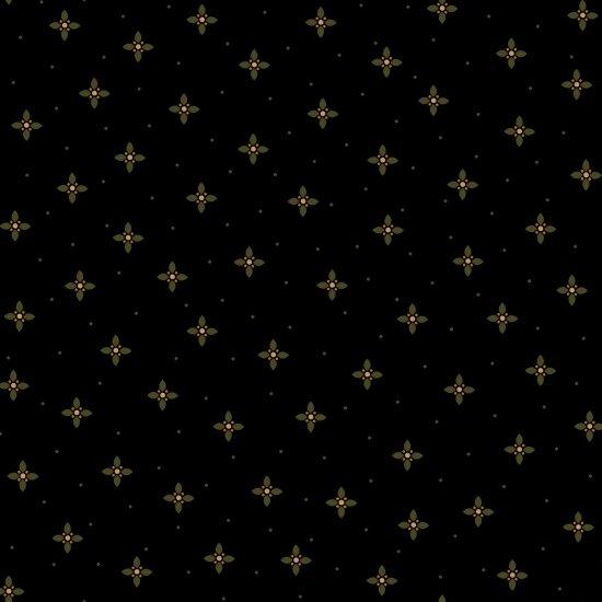 Ebony & Onyx - Geometric Petals