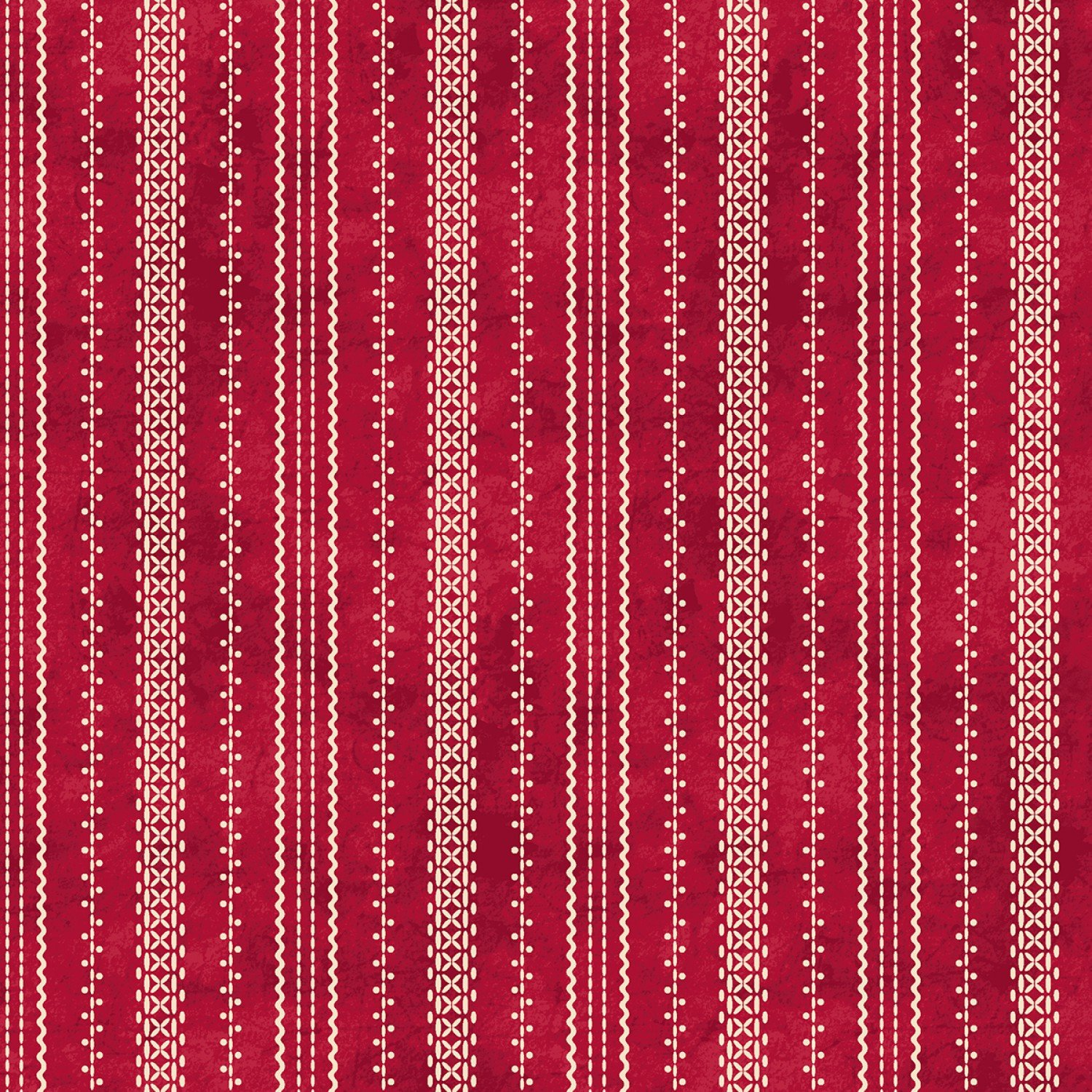 The Little Things - Red Stitched Ticking