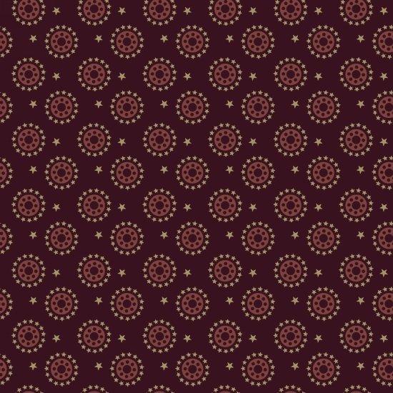 Primitive Stitches - Burgundy Bobbins