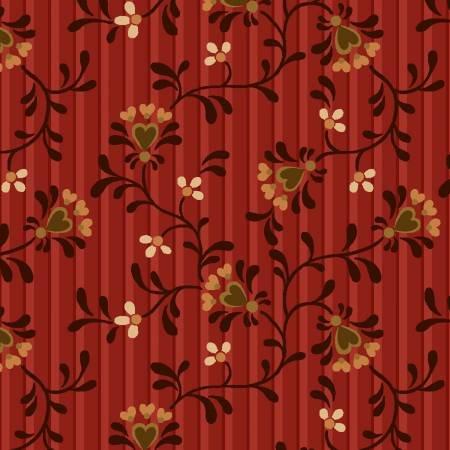 Berries & Blossoms - Red Flower Heart Vine