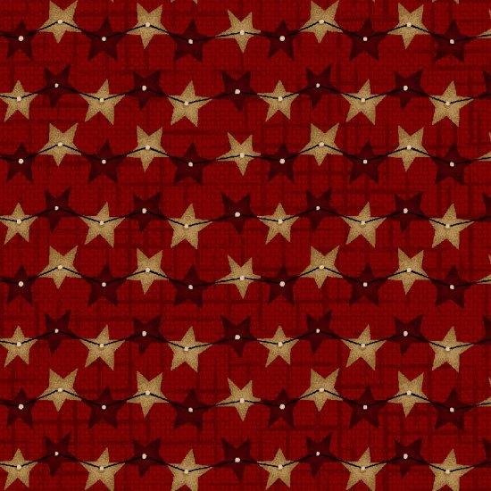 Berries & Blossoms -Dark Red Star Strands
