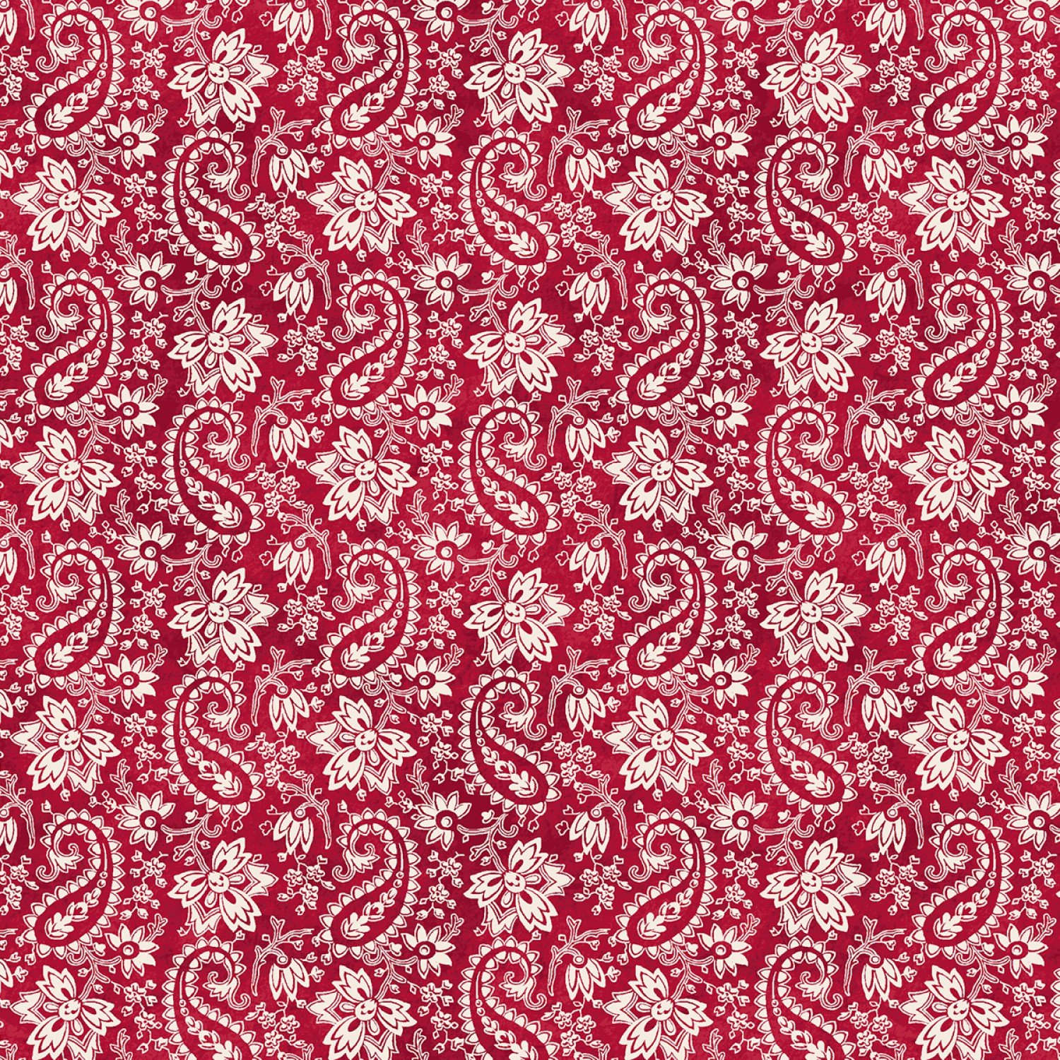 The Little Things - Red Paisley