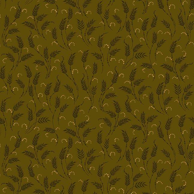 October Morning - Green Waving Wheat
