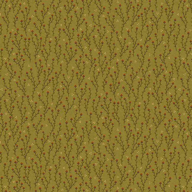 October Morning - Green Acorn Thicket