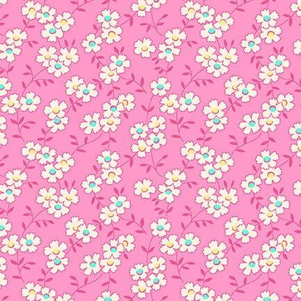Nana Mae IV - Pink Multicolored Daisy