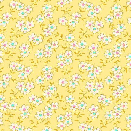 Nana Mae IV - Yellow Multicolored Daisy