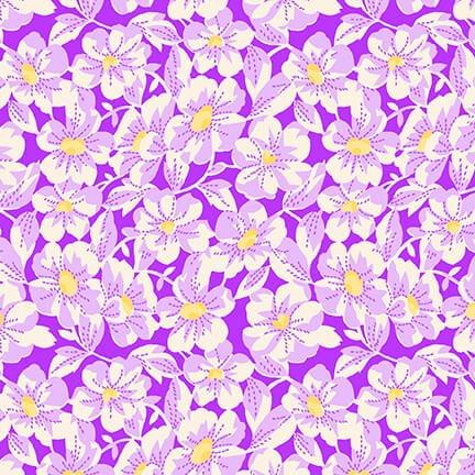 Nana Mae IV - Large Purple Daisy
