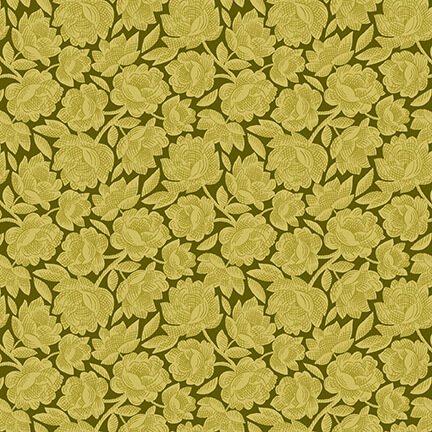 Gratitude & Grace - Green Vintage Floral