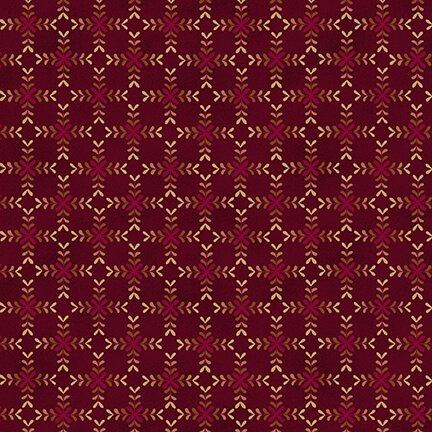 Gratitude & Grace - Wine Diamond Blossoms