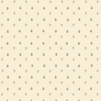 Gratitude & Grace - Cream Fleur de Lis