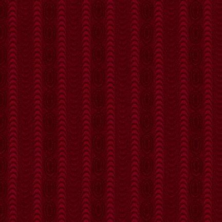 Farmhouse Christmas - Red Moire Stripe