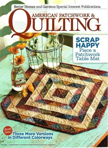 American Patchwork & Quilting Magazine - June 2014