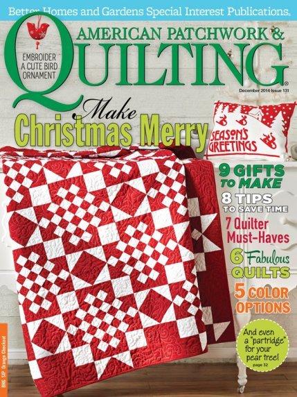 American Patchwork & Quilting Magazine - Dec 2014