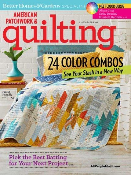 American Patchwork & Quilting Magazine - June 2017