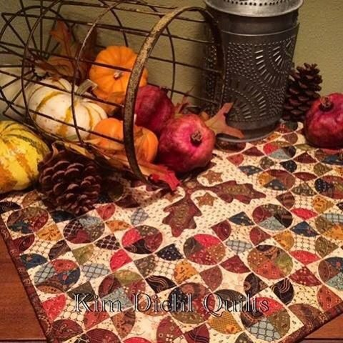 Simple Whatnots Club 6 - Autumn Tapestry Quilt Kit