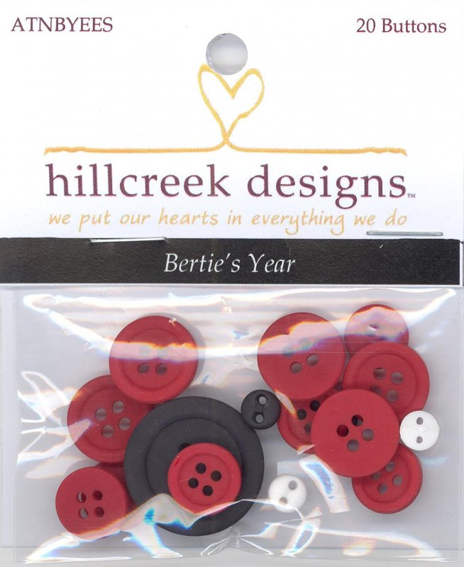 Bertie's Year Button Pack