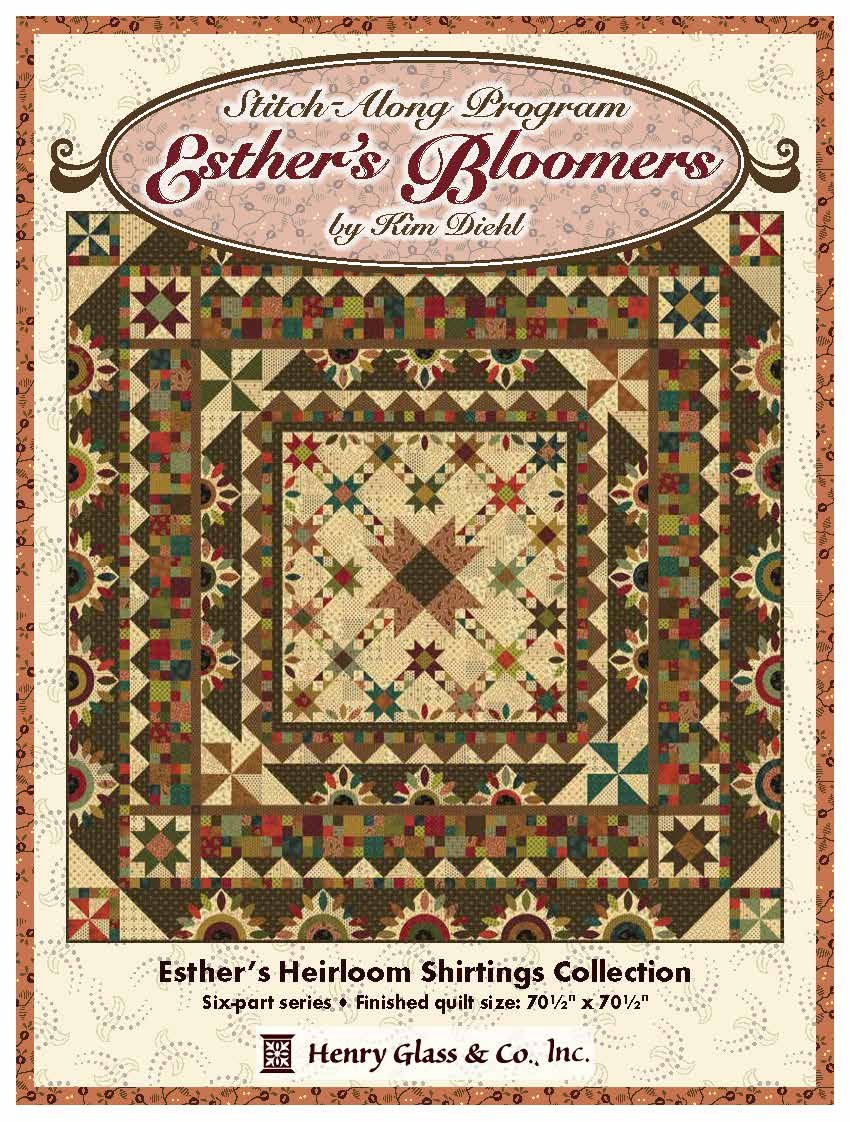 Esther's Bloomers Stitch Along / BOM by Kim Diehl
