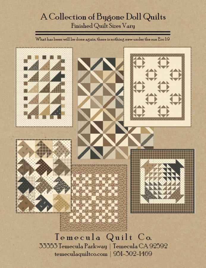 Bygone Doll Quilts Pattern Booklet