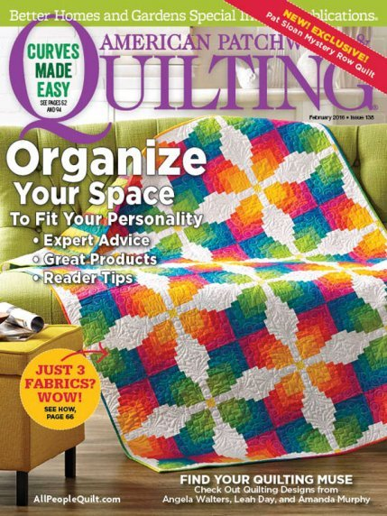 American Patchwork & Quilting Magazine - Feb 2016