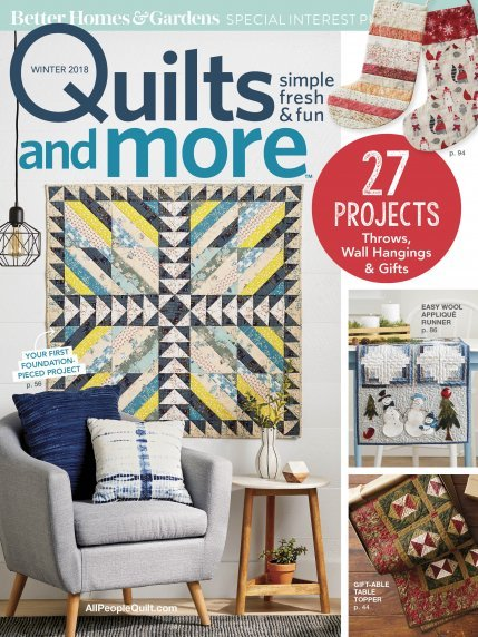 Quilts and More - Winter 2018