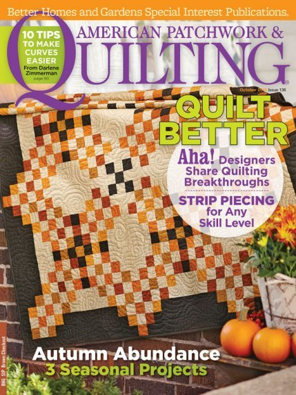 American Patchwork & Quilting Magazine - Oct 2015