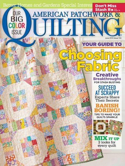 American Patchwork & Quilting Magazine - June 2015
