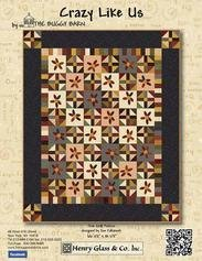Crazy Like Us free quilt pattern