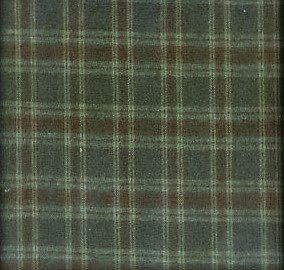 Brushed Cotton  - Brown  Plaid