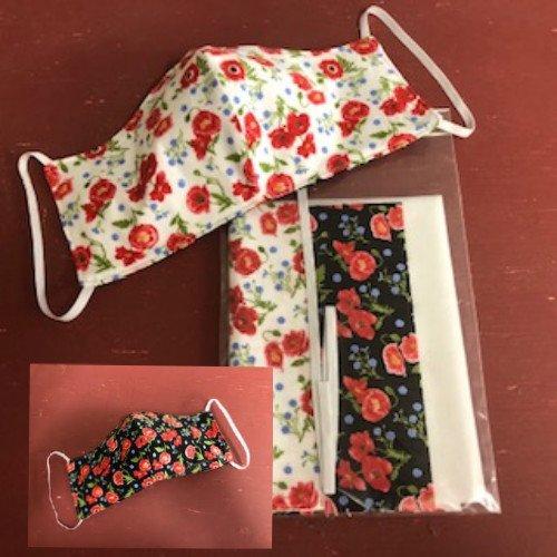 Poppy Meadows Face Mask Kit