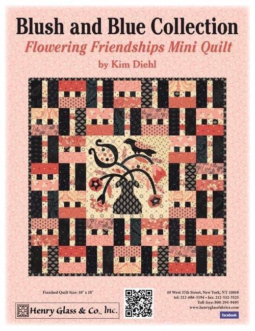 Flowering Friendship Mini Quilt