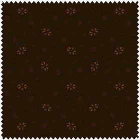 Down to Earth - Chocolate Foulard