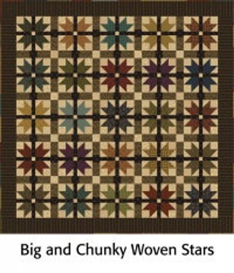 Big & Chunky Woven Stars Kit