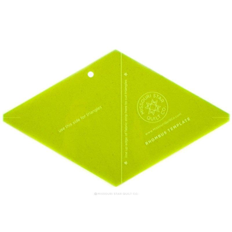 10 Rhombus Template