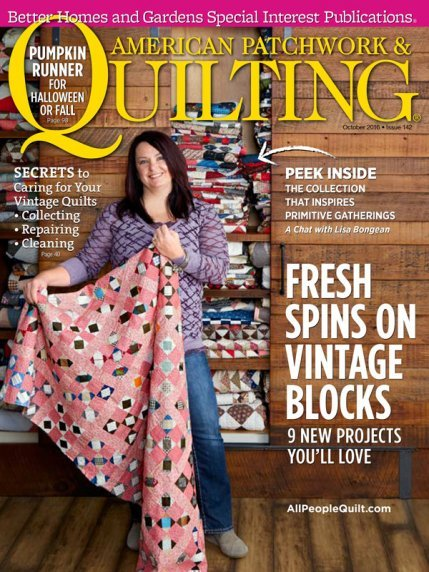 American Patchwork & Quilting Magazine - October 2016