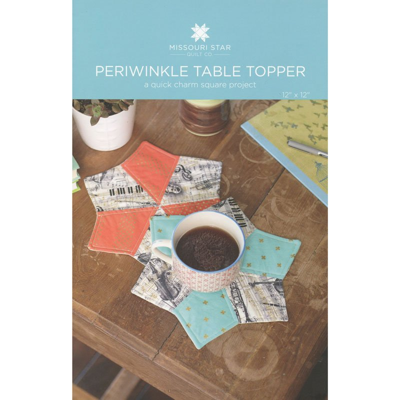 periwinkle table topper pattern