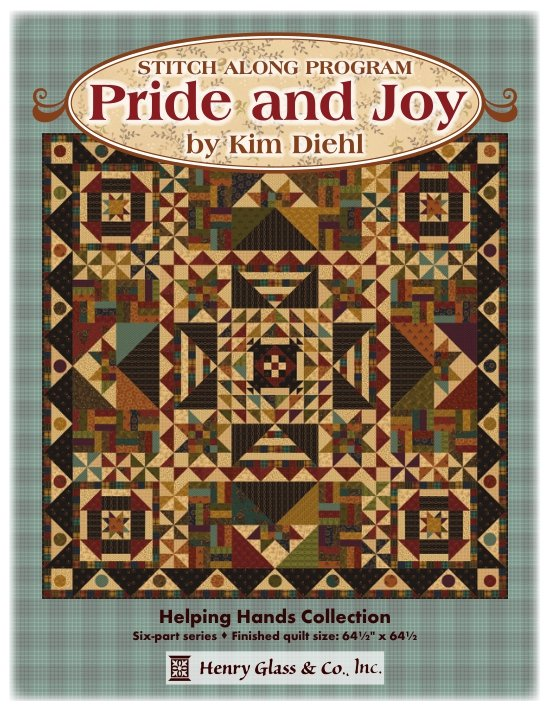 Pride & Joy Stitch Along/BOM by Kim Diehl