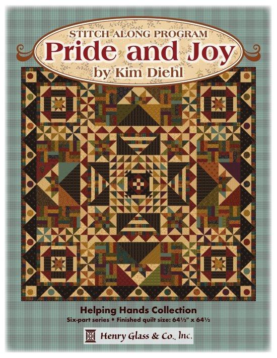 Pride & Joy Stitch Along/BOM by Kim Diehl