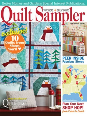 Quilt Sampler - Fall & Winter 2016