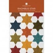 Rhombus Star Quilt Pattern
