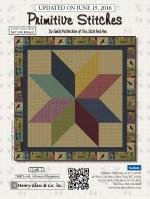 Primitive Stitches Quilt 2 - Star Topper